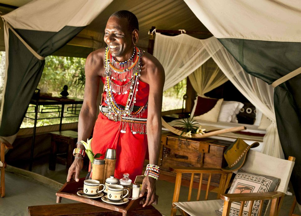 Mara Bush Camp Breakfast © Sunworld Safaris