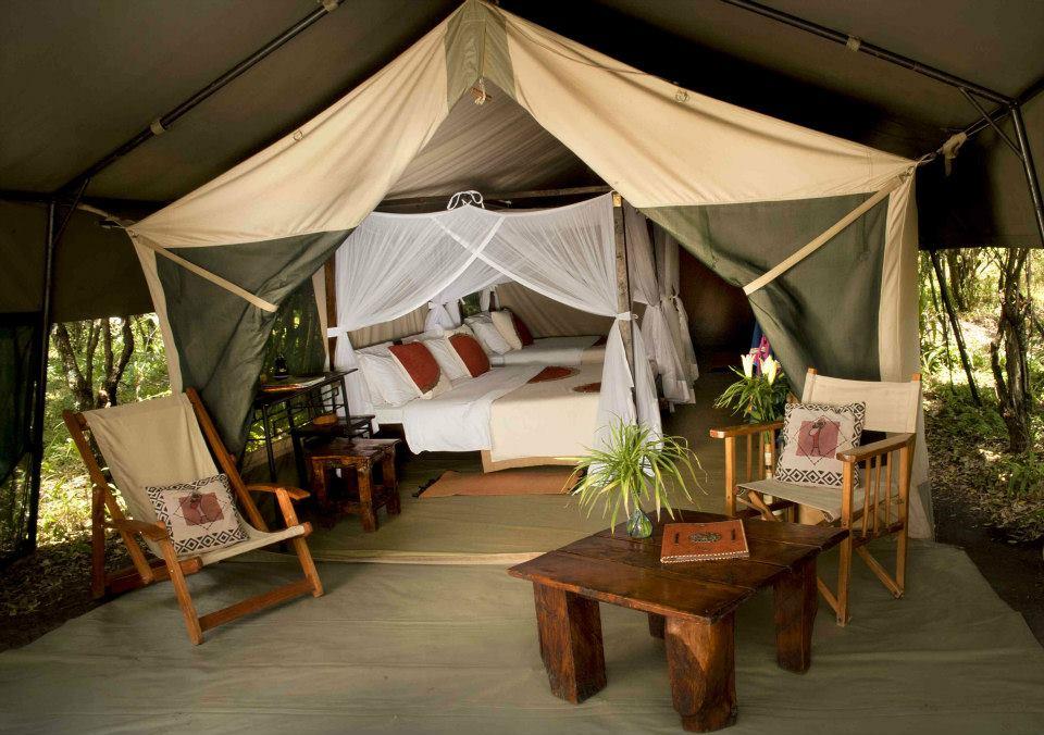 Mara Bush Camp Lounge © Sunworld Safaris