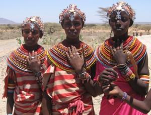 Samburu Girls © Jack van der Veen