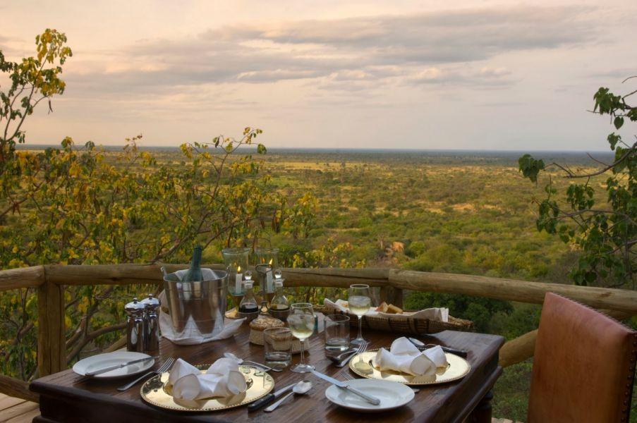 Elsa's Kopje breakfast with a view