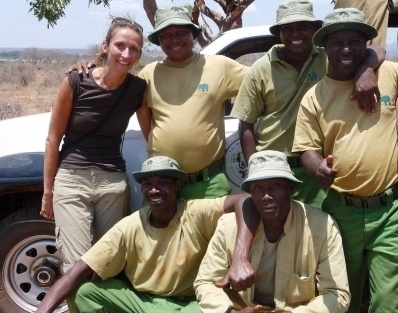 Elephant Keepers at Voi