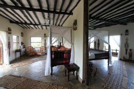 Kinondo Kwetu Honeymoon suite