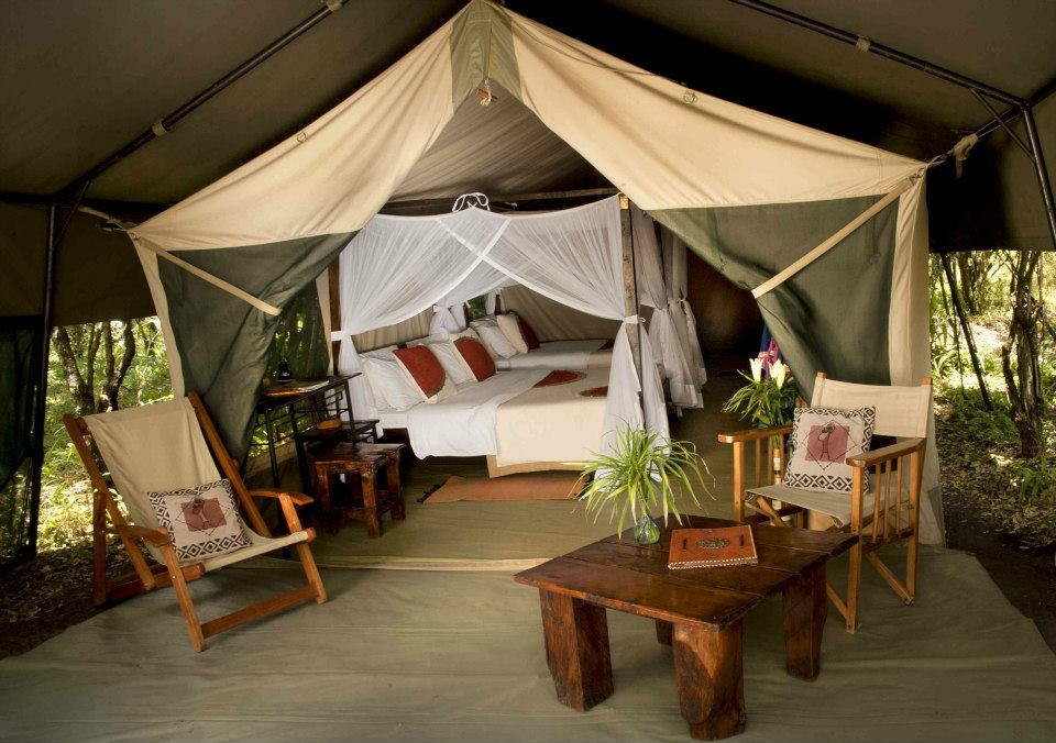 Mara Bush Camp Lounge © Sunworld Safaris