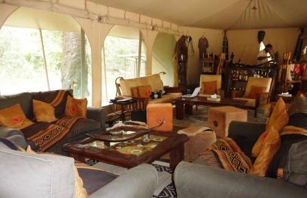 Mara Bush Camp Lounge