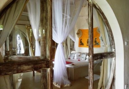 Msambweni Beach House Bedroom
