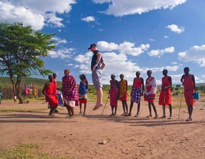 In the mood to go Maasai?