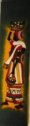African Woman Batik